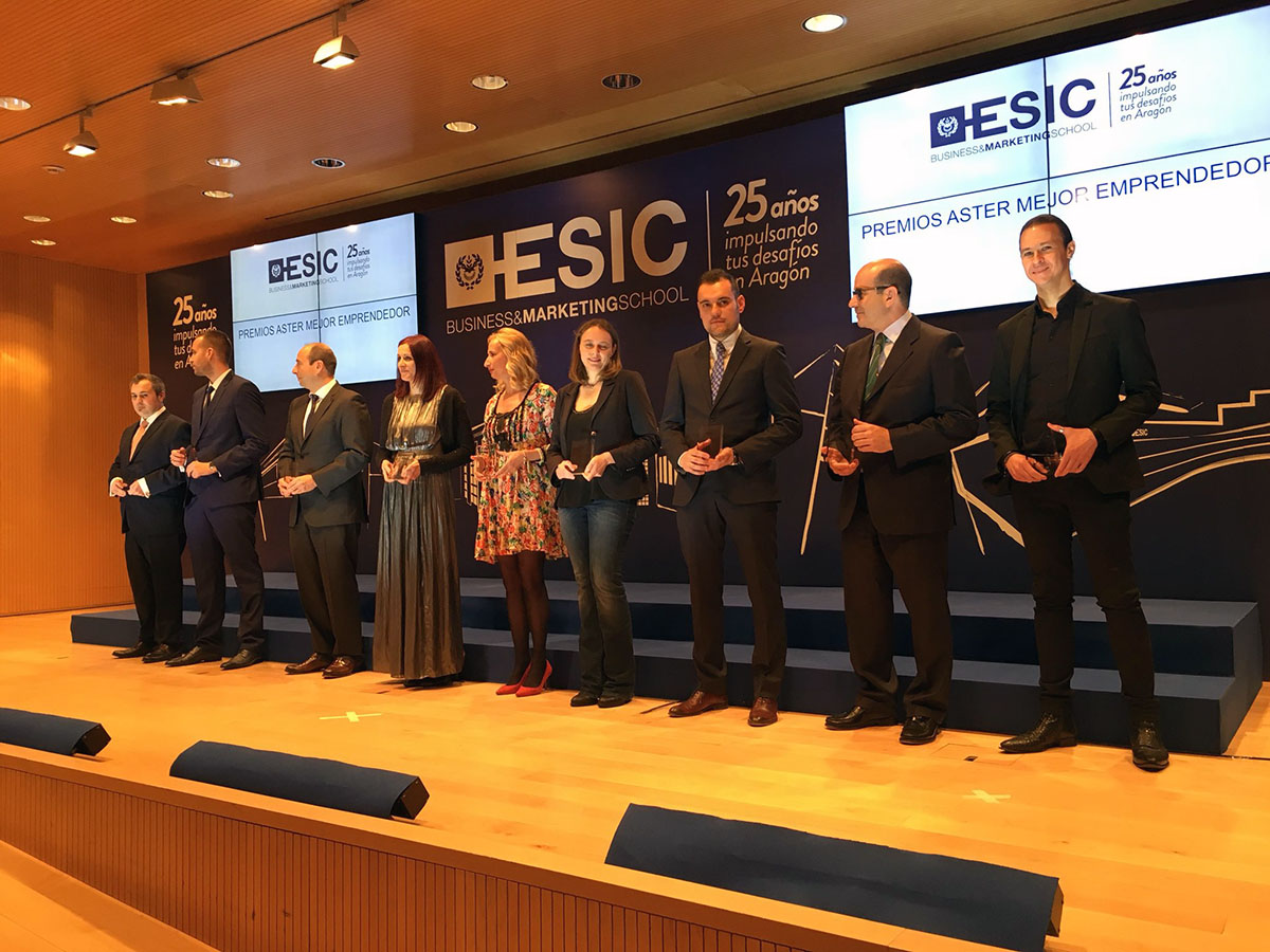 Awarded at ESIC Business School 25 Anniversary Ceremony