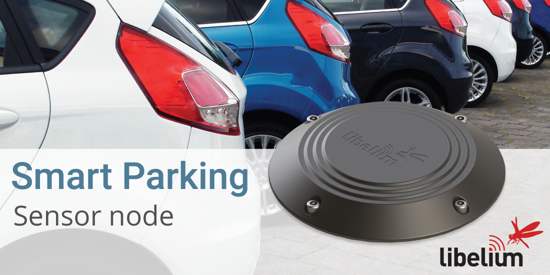 Libelium Smart Parking Sensor Node