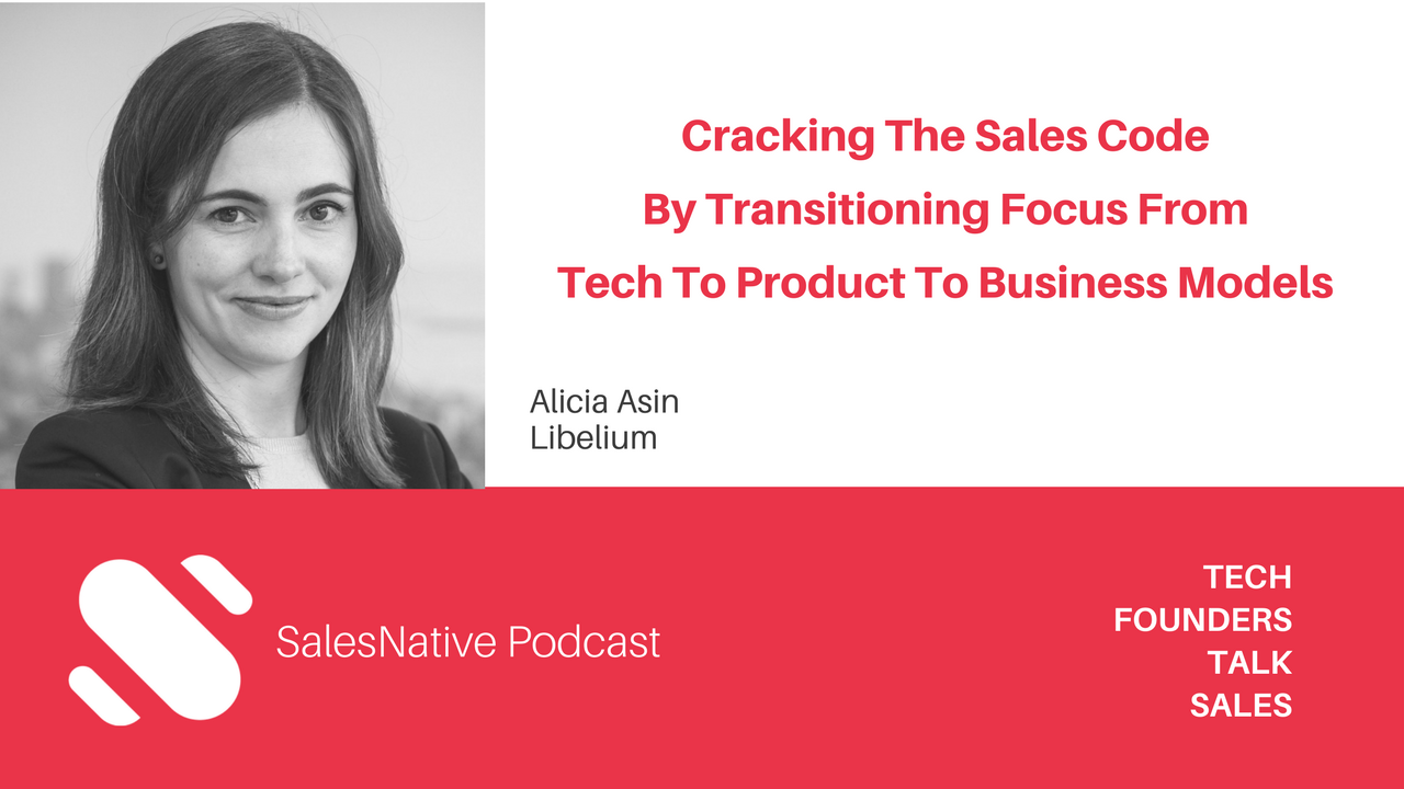 Interview Alicia Asin, Libelium CEO, at SalesNative