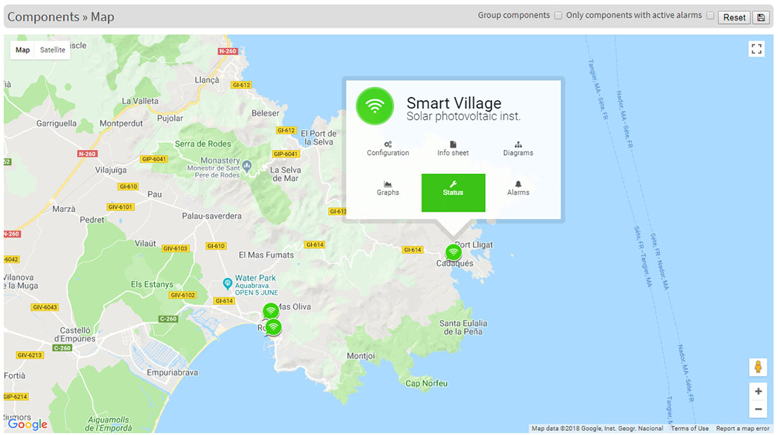 Smart Village Map