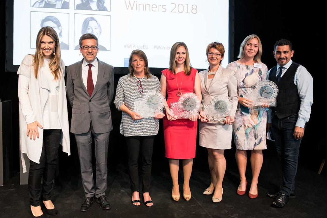 EU Prize for Women Innovator Women Awarded with Carlos Moedas and Eva Kaili