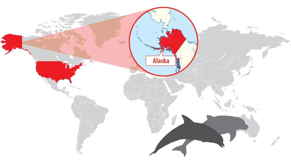 Location of Alaska (United States of America)