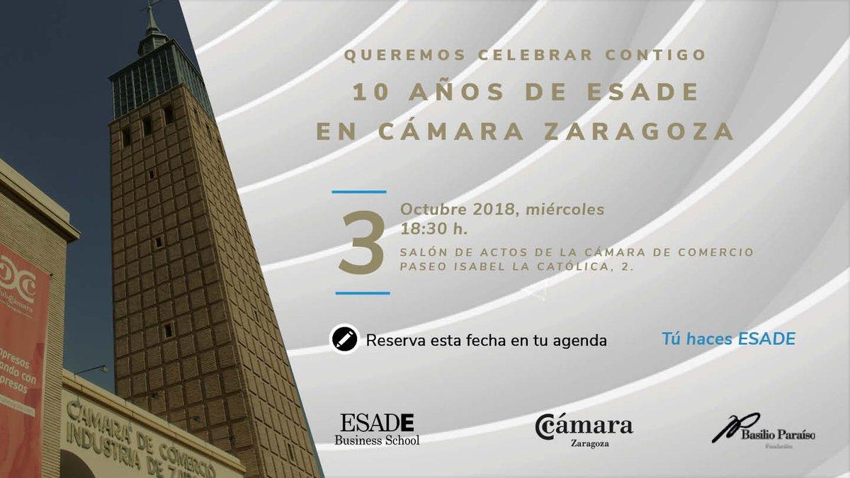 10 años de ESADE en Cámara Zaragoza