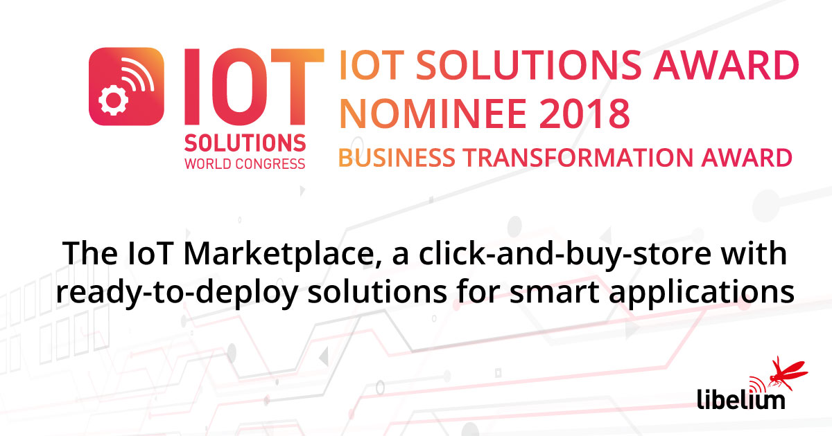 The IoT Marketplace, finalist of IoT Solutions Awards