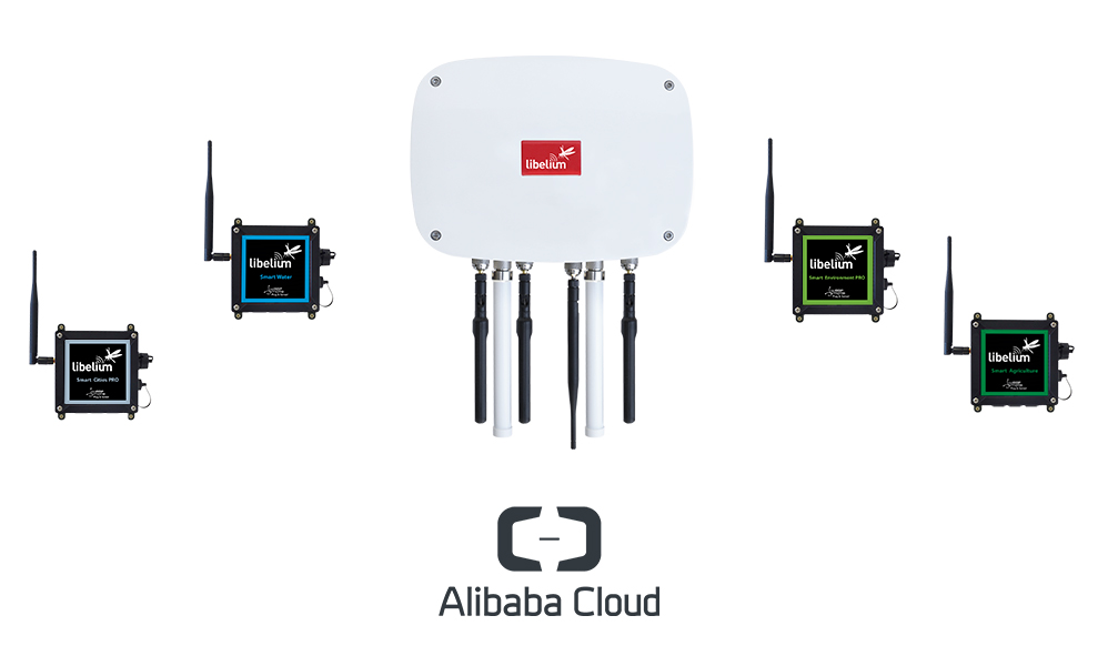Alibaba Cloud integrates in Libelium IoT platform