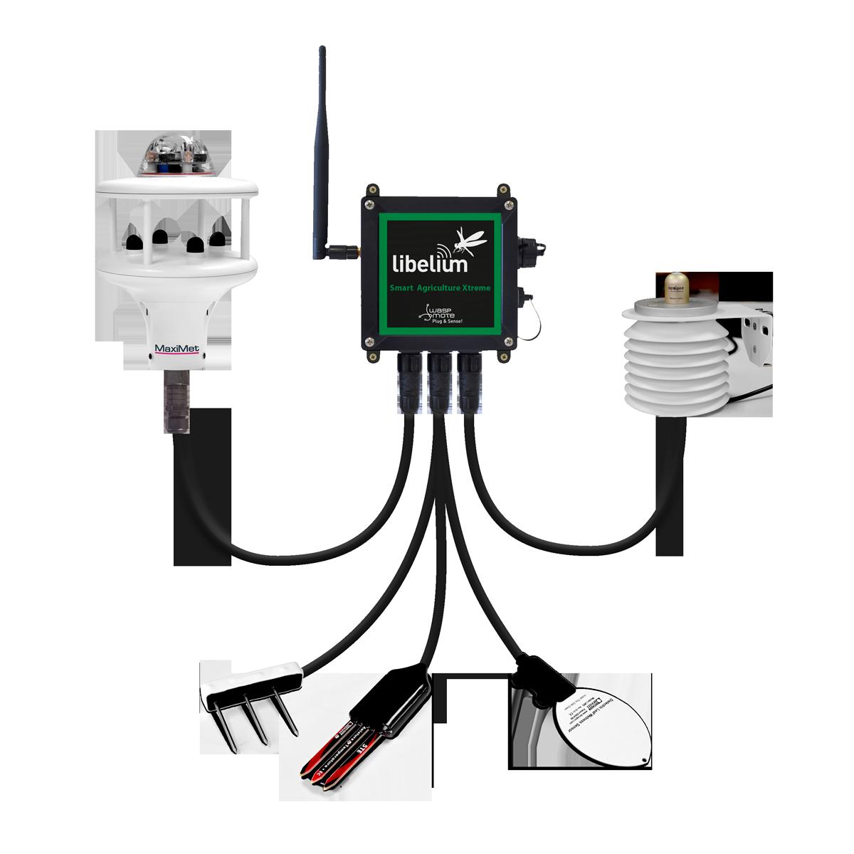 Waspmote Plug & Sense! Smart Agriculture Sensor Node