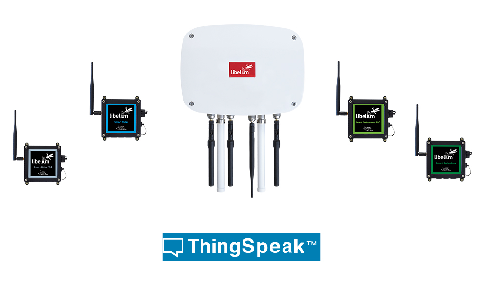 ThingSpeak integrates in Libelium IoT platform
