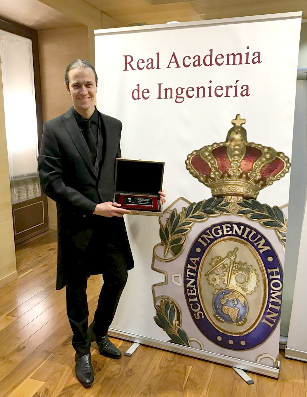 "David Gascón awarded with the ""Juan López de Peñalver"" Prize"