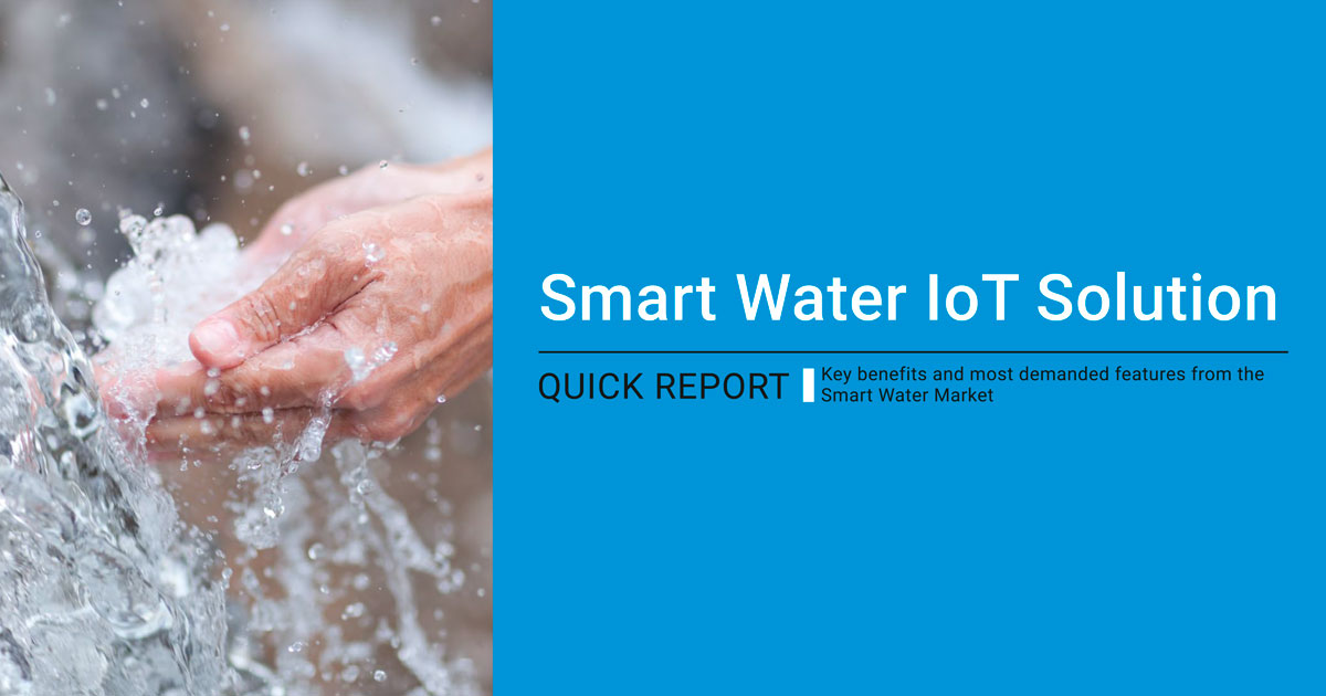 Libelium Smart WaterIoT Solution Quick Report