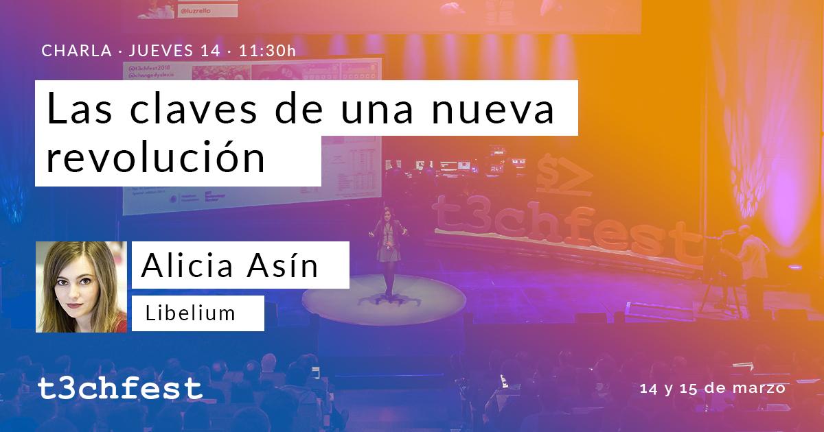 Alicia Asín, Libelium CEO, participates in T3chFest