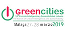 Greencities, 27 – 28 March 2019, Málaga, ES