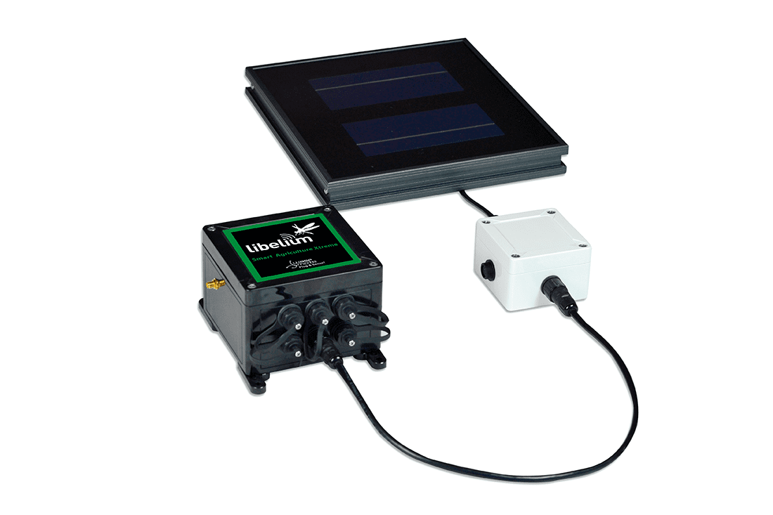 Datasol photovoltaic sensor working with Waspomote Plug & Sense!