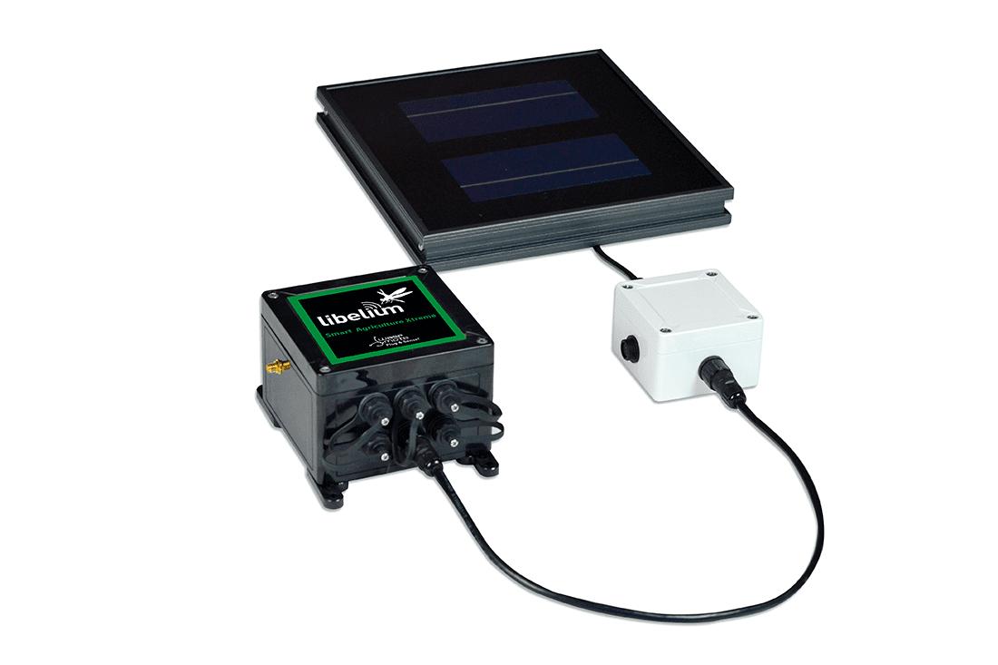 Datasol photovoltaic sensor working with Waspomote Plug & Sense!