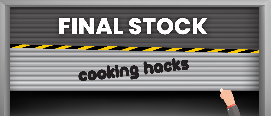 Cooking Hacks Final stock