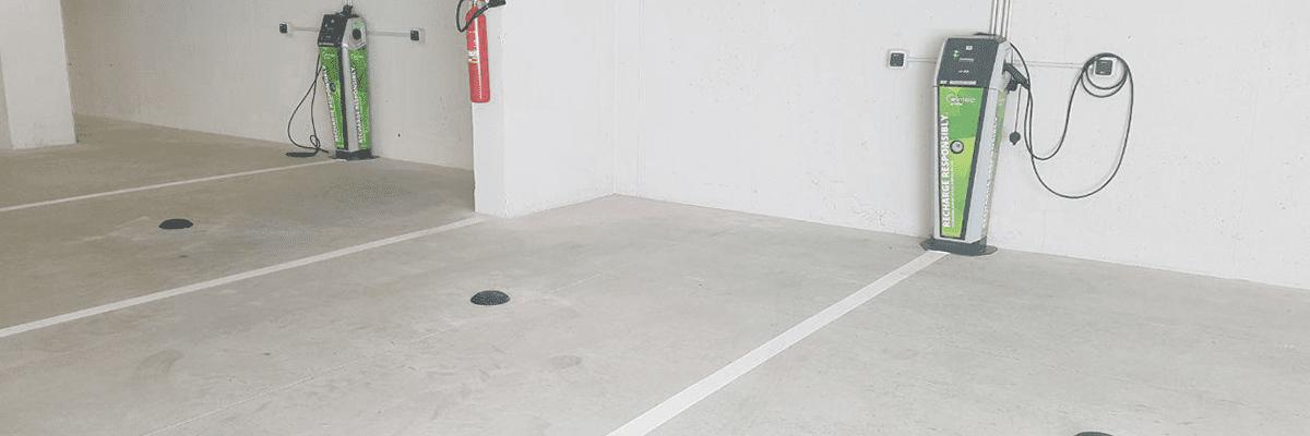 electric car parking monitoring