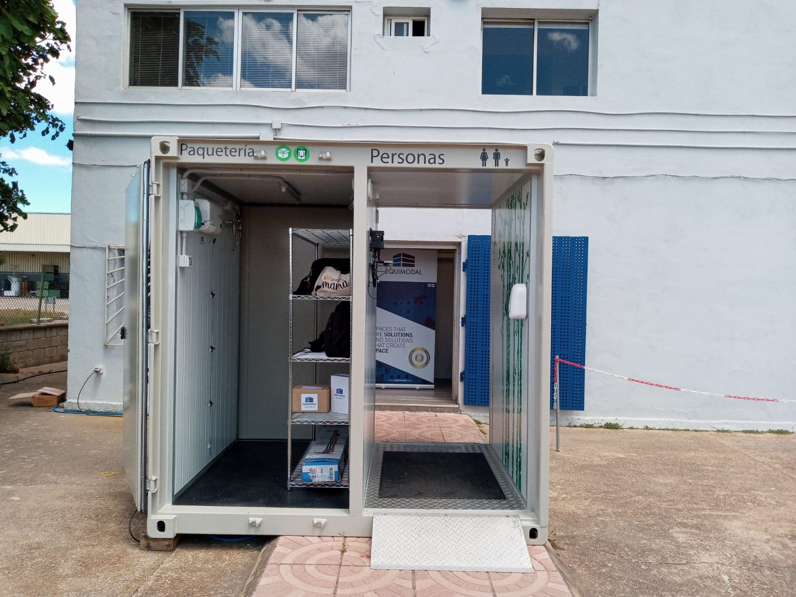 An all-in-one solution to ensure a safe entrance to workplace