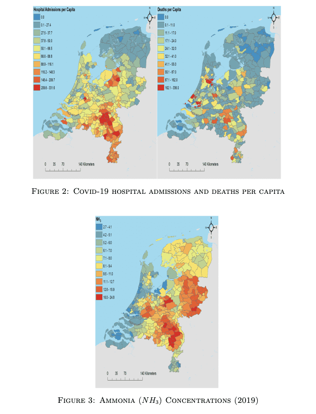 Dutch research Covid19 and air pollution