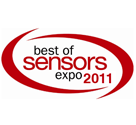 "Best of Sensors Expo"" 2011 Award"