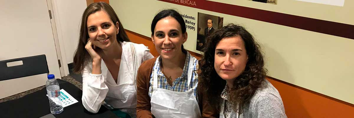 María, Covadonga y Nuria en el reto por ti