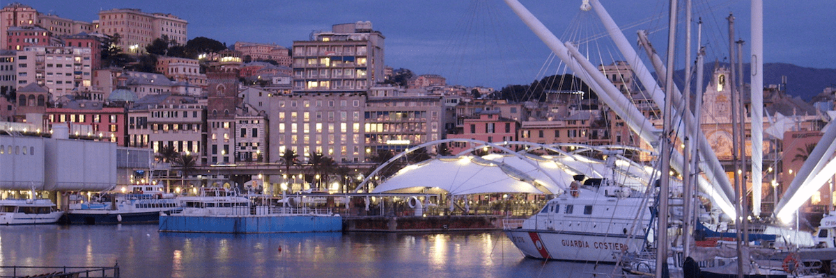 air quality iot project in port genoa banner