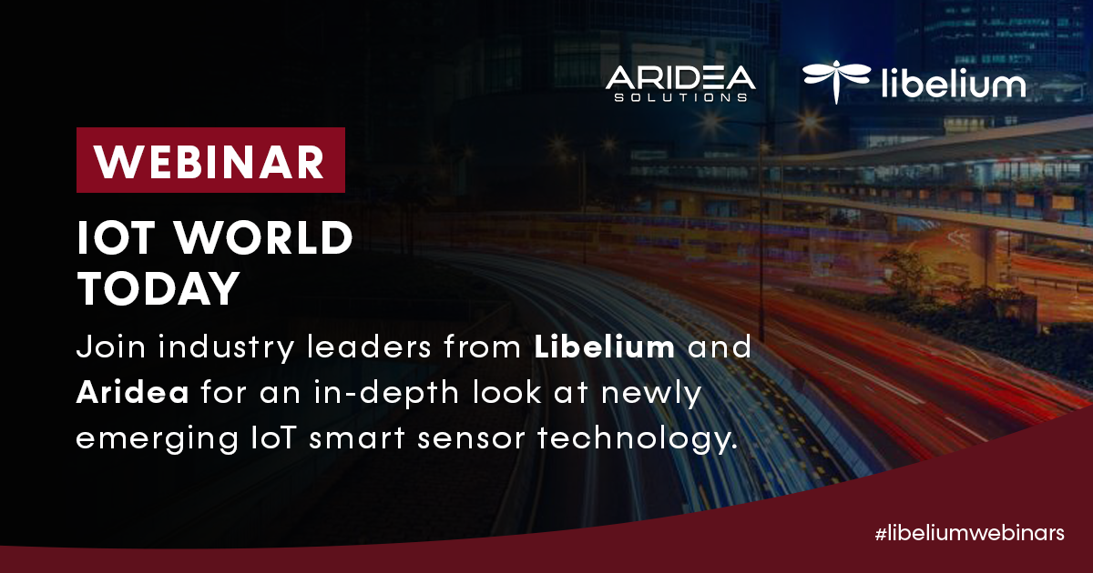 Webinar Aridea + Liblium at IoT Solution World Congress