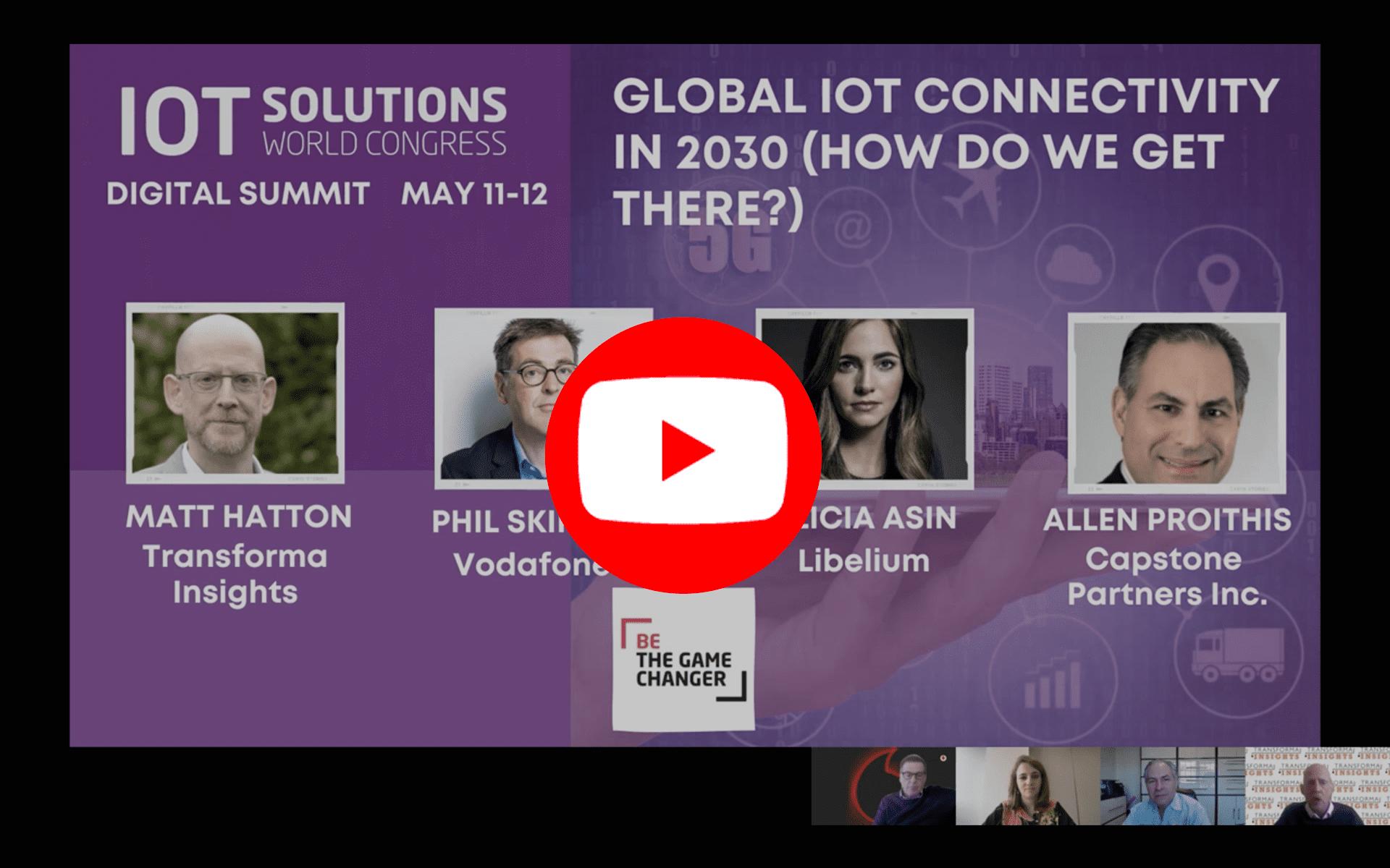 Alicia Asín's Intervention IoT Solution World Congress 2021