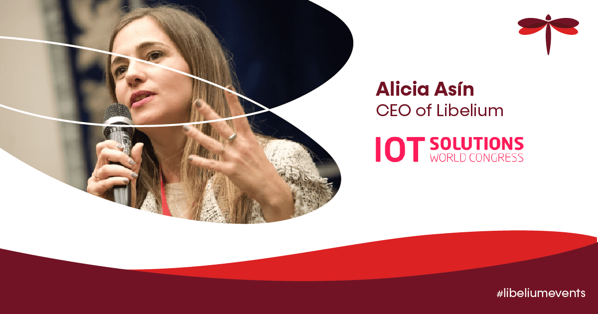 Alicia at IoT Solution World Congress 2021