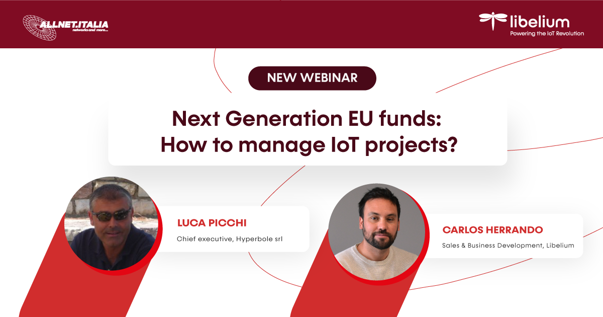 Next Generation EU funds: How to manage IoT projects?