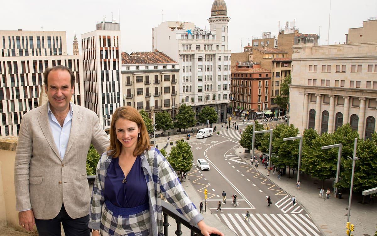2-Alicia Asín CEO de Libelium con Alfonso De León de Axon Group Partners